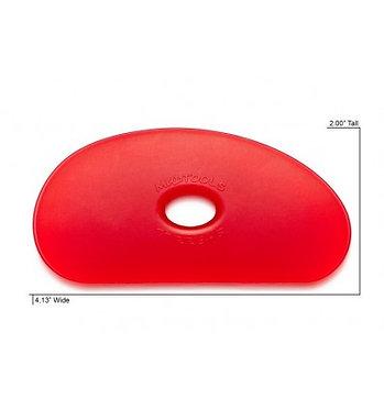 Mudtool vorm 5 rood