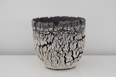 Vaas in gebroken aarde