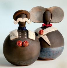 Zeeuwse Dikbuikjes (keramiek Cecilia Ver