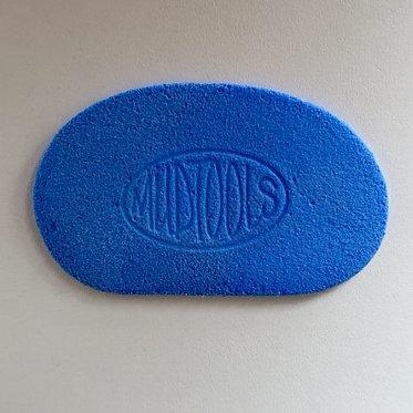 Mudtool spons blauw