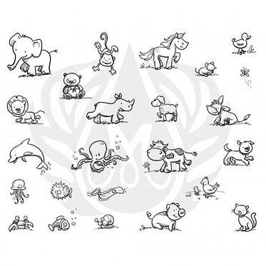 DSS 0137 Cutesy Animals