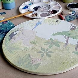Schilderen met glazuren