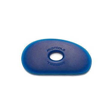 Mudtool blauw medium
