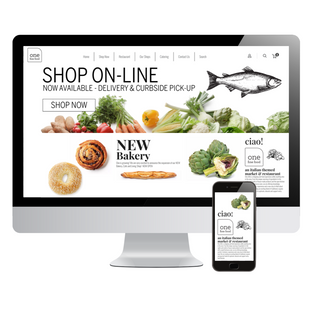 One Fine Food WEBSITE DESIGN
