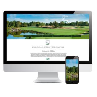 Wildfire Golf Club WEB DESIGN
