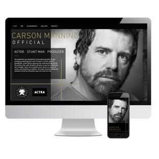 Actor  WEBSITE DESIGN