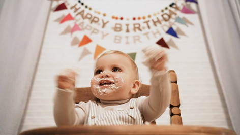EMMETT'S FIRST BIRTHDAY