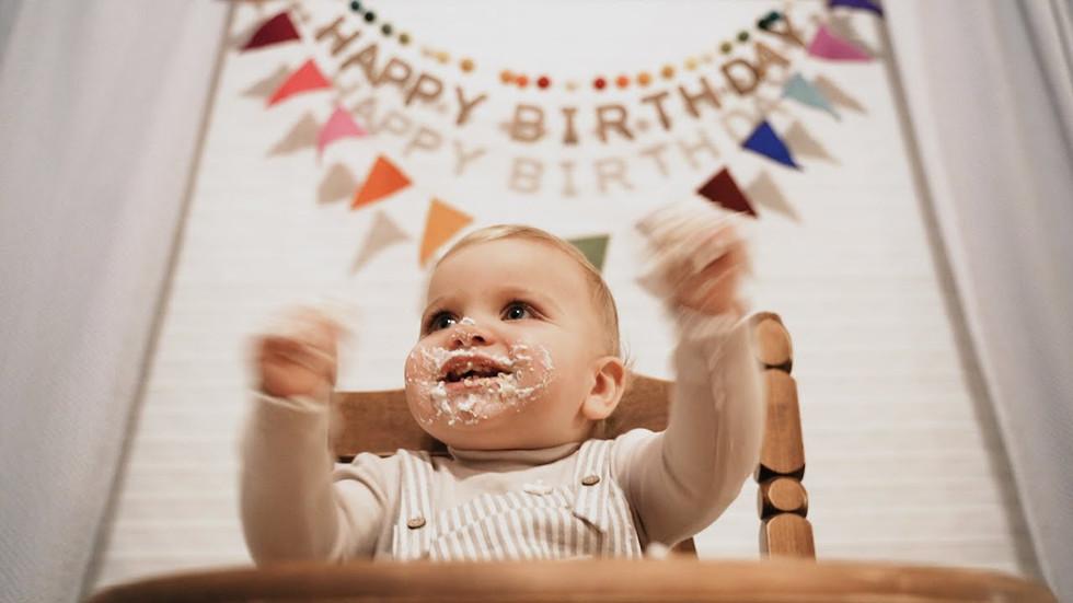 EMMETT'S FIRST BIRTHDAY