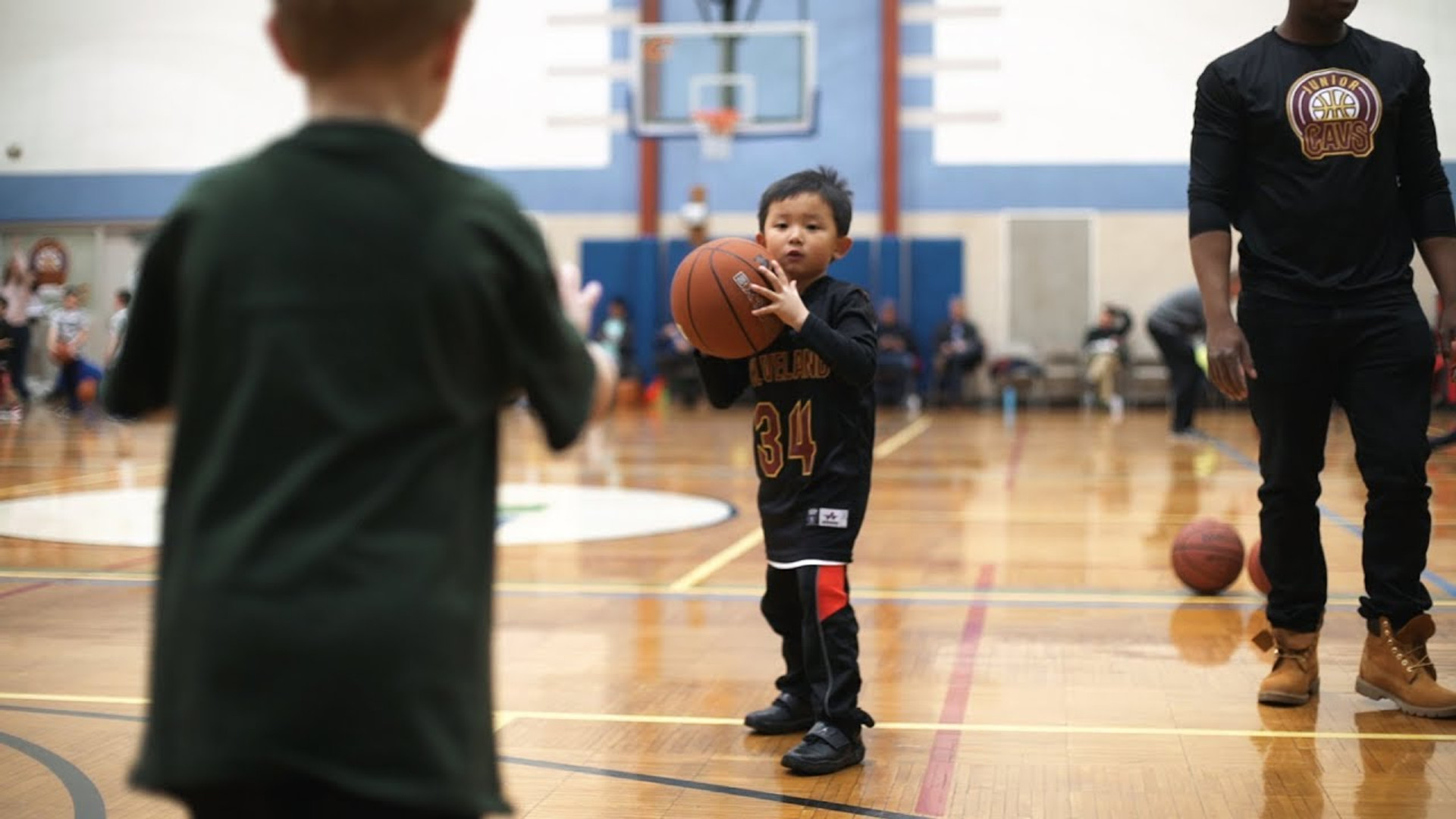 YMCA of Greater Toledo   Jr. Cavaliers Youth Basketball Program
