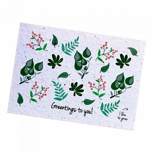 Plantable Postcard - WildFlowerMix