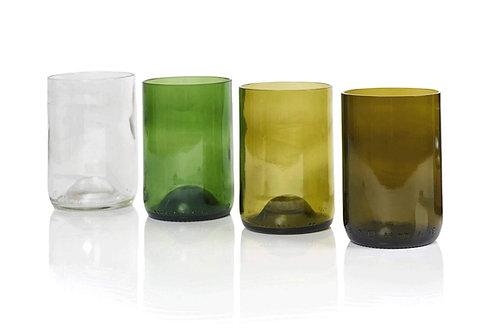 Tumbler 4er - made upcycled bottles