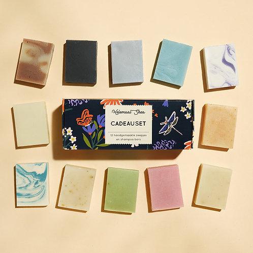 Gift set 12 mini soaps