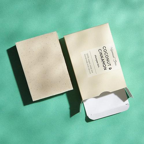 Coconut & Cinnamon - Shampoo Bar
