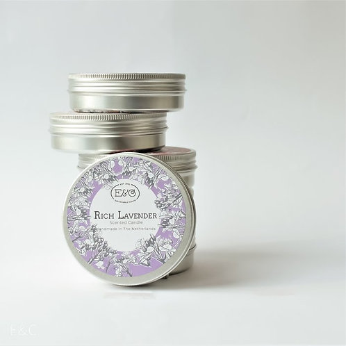 RICH LAVENDER - Travel Tin Candle