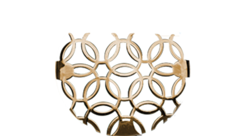 Lattice inset. Nazari Necklace. Alhambra Collection.
