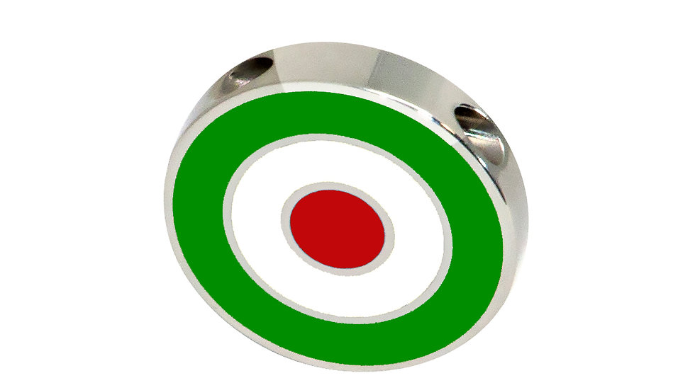 316L Stainless Steel Roundel Necklace with Iran colors