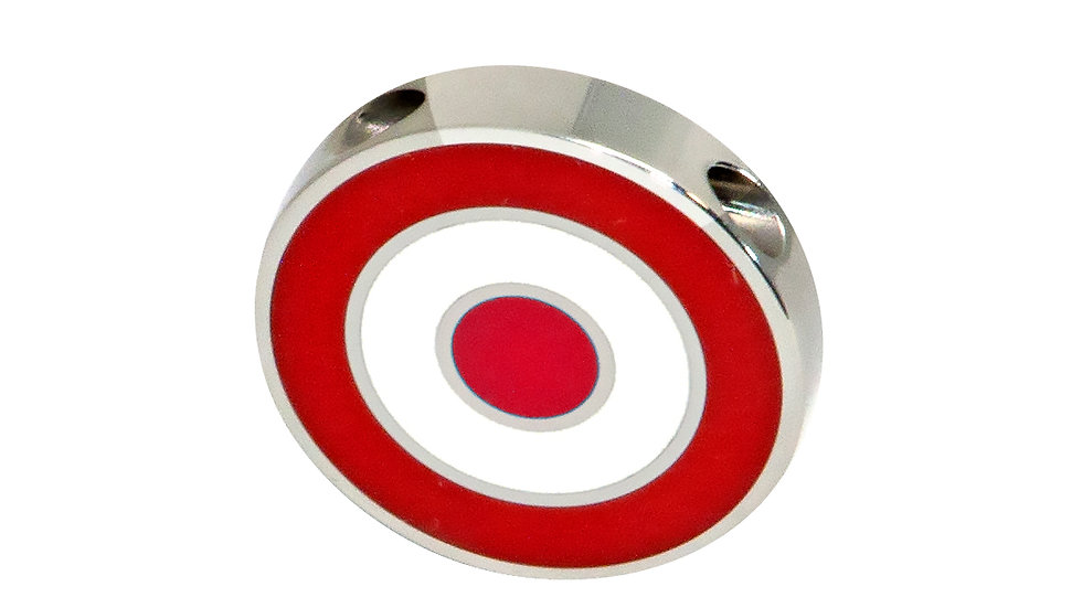 316L Stainless Steel Roundel Necklace with Turkey colors