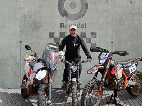 "Roundel Sponsors Rally Pilot Javier San Jose ""Yetor"""