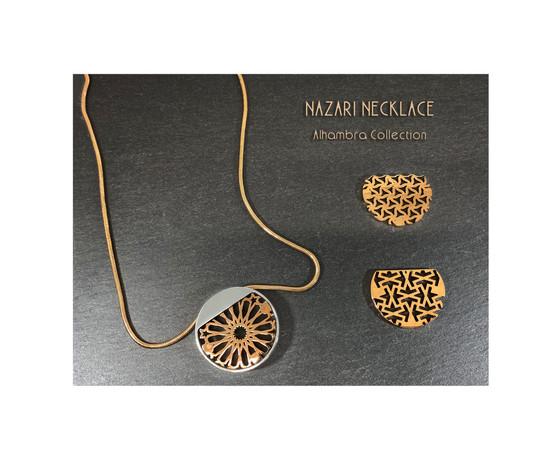 Roundel Nazari Necklace. Alhambra Collection.