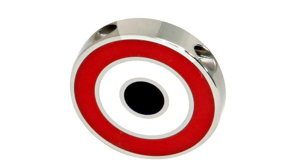 316L Stainless Steel Roundel Necklace with Egypt colors