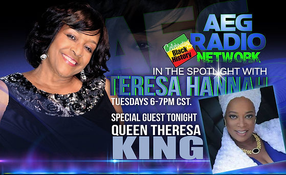 Queen Theresa King In the Spotlinght wit