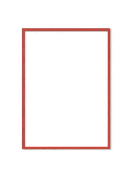 Red Solid Oak Frame FSC