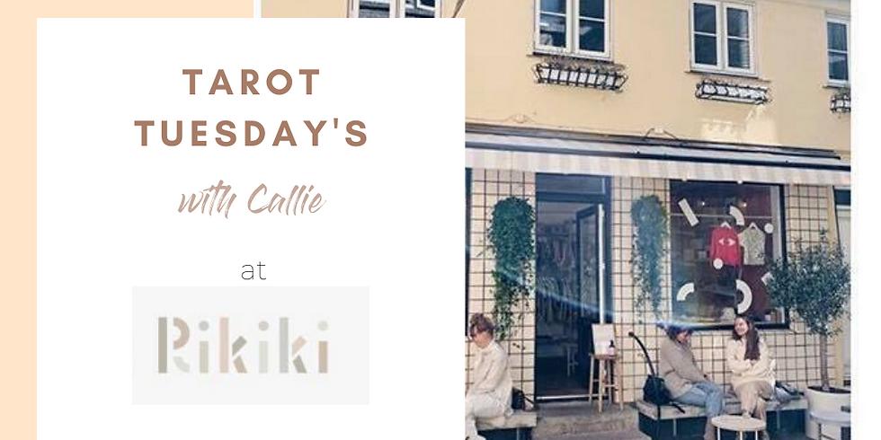 Tarot Tuesday's at Rikiki