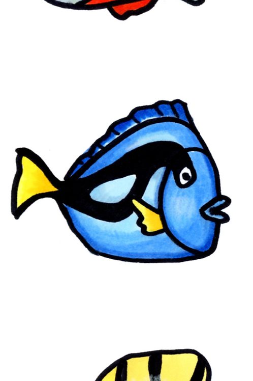 SKAL VI TEGNE FISK 2