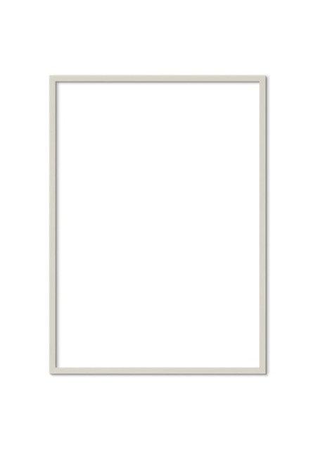 Cashmere grey Solid Oak Frame FSC