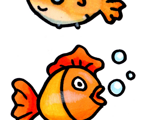 SKAL VI TEGNE 4 FISK