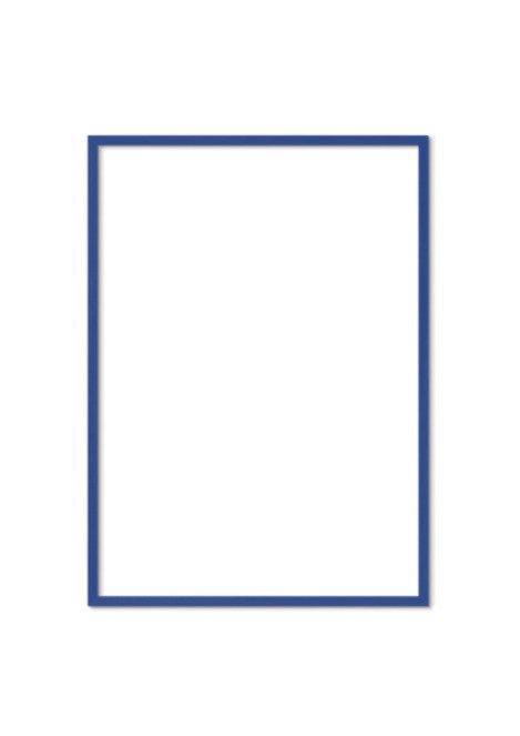 Blue Solid Oak Frame FSC
