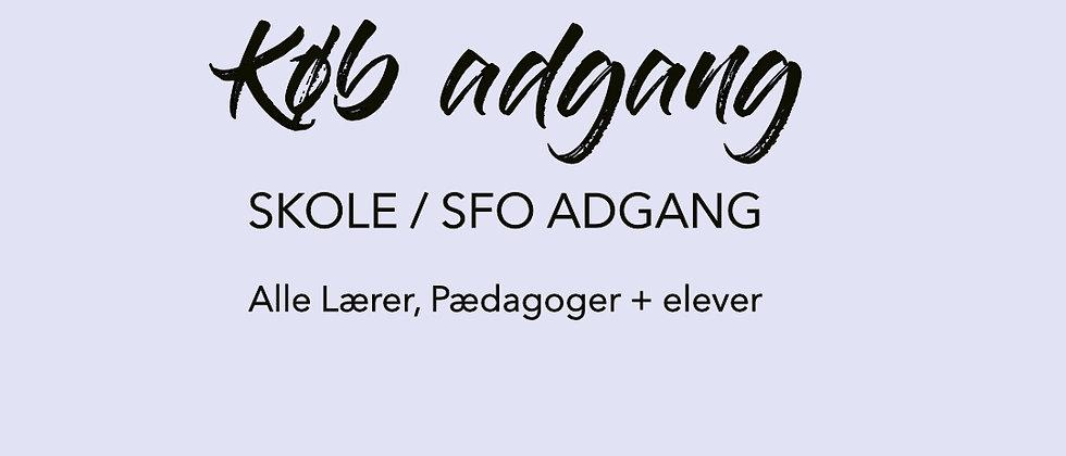 Skole / SFO adgang + alle elever
