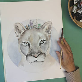 Finished The Mountain Lioness. She kind