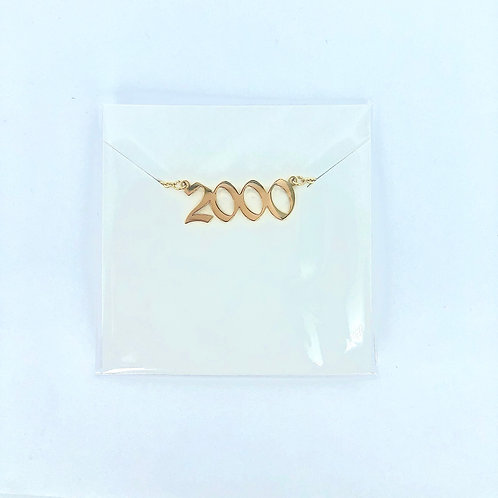 2000's Necklace