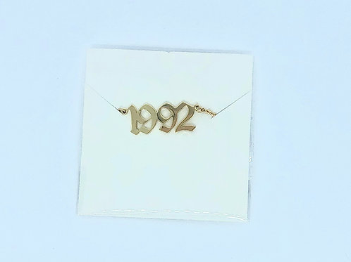 1992 Necklace