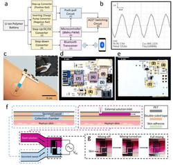 PCB Designed Controlling Microfluidic Flow