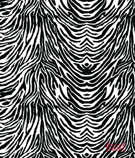 Zebra Skin Headliner