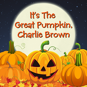 It's the Great Pumpkin, Charlie Brown Logo.png