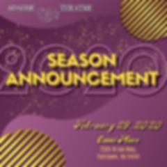 2020 Season Announcement Square Logo-2.p