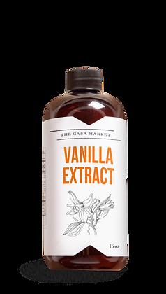 The Casa Market - Vanilla Extract 16 oz