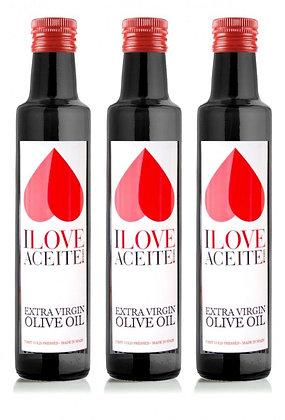 ILOVEACEITE - White Label 250 ml (3 Pack)