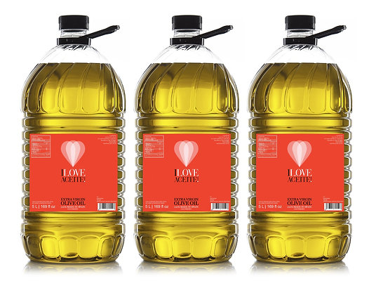 ILOVEACEITE - Red Label 5 L (3 Pack)
