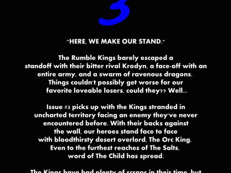 Rumble Kings #3 Kickstarter Launch Date!