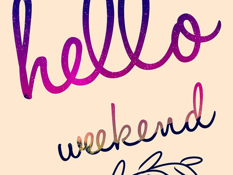 It'd be great if we could love weekdays as much as weekends