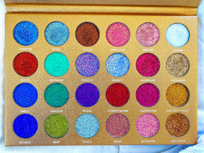 Jolie Beauty | Bomb Dot Com Palette Review