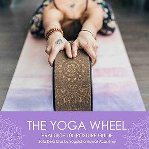 Yoga Wheel practice guidebook ヨガウィールプラクティスガイド