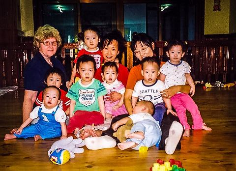 Korea orphanage 2004