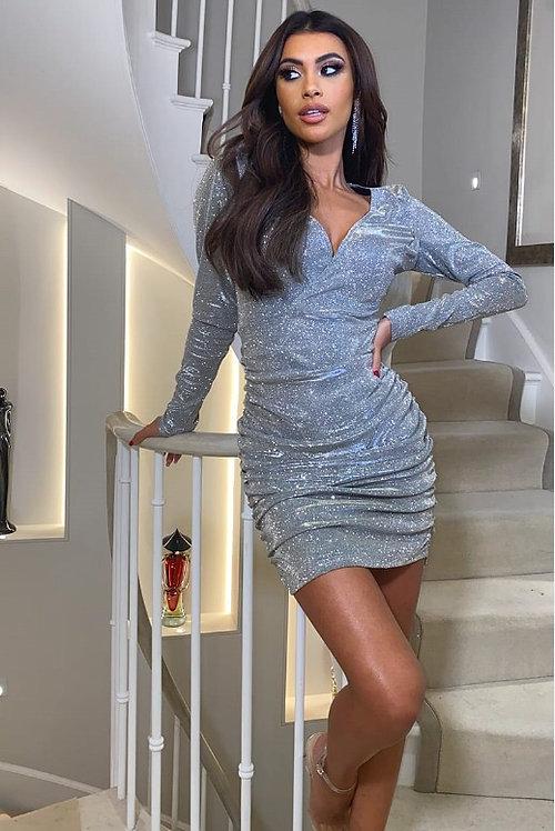 JOANNA Glitter Dress