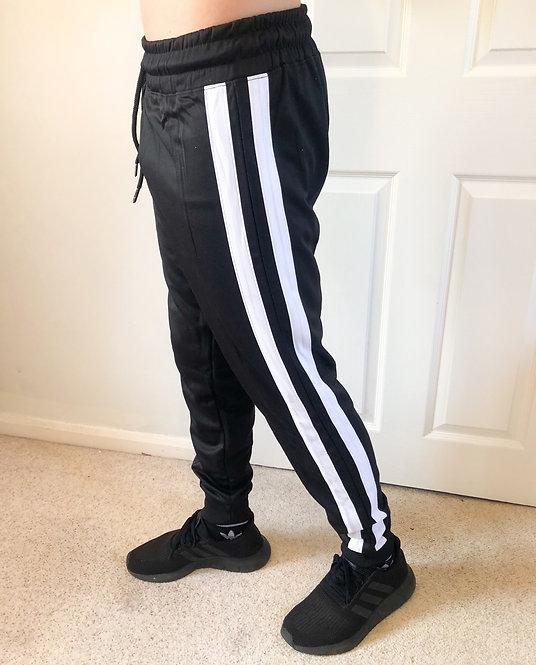 Double Stripe Jogging Bottoms