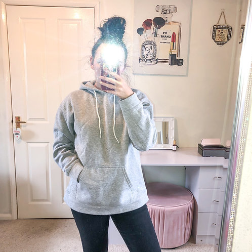 NATALIE Light Grey Hoodie (Unisex)